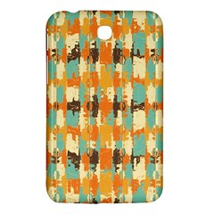Shredded Abstract Background Samsung Galaxy Tab 3 (7 ) P3200 Hardshell Case  by LalyLauraFLM