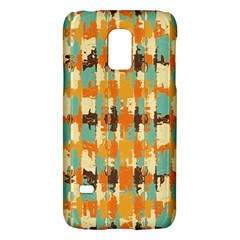 Shredded Abstract Background Samsung Galaxy S5 Mini Hardshell Case  by LalyLauraFLM