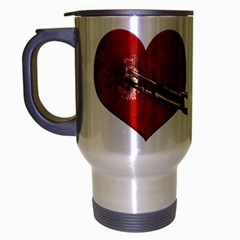 Unbreakable Love Concept Travel Mug (silver Gray)