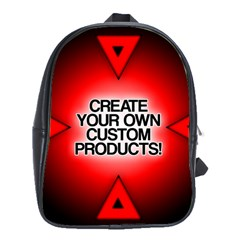 Create Your Own Custom Products And Gifts School Bag (large)