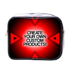 Create Your Own Custom Products And Gifts Mini Travel Toiletry Bag (one Side)