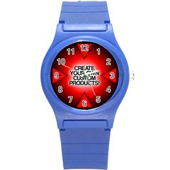 Create Your Own Custom Products And Gifts Plastic Sport Watch (small)