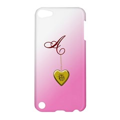 A Golden Rose Heart Locket Apple Ipod Touch 5 Hardshell Case by cherestreasures