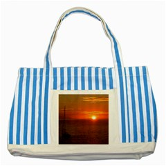 Good Night Mexico Striped Blue Tote Bag