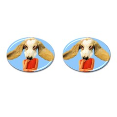 Flighty Cufflinks (oval) by AnimalsLol