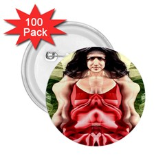 Cubist Woman 2 25  Button (100 Pack)