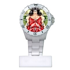 Cubist Woman Nurses Watch by icarusismartdesigns