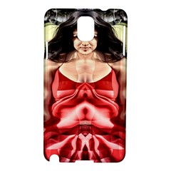 Cubist Woman Samsung Galaxy Note 3 N9005 Hardshell Case by icarusismartdesigns
