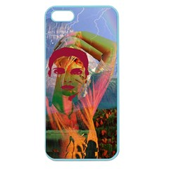 Fusion With The Landscape Apple Seamless Iphone 5 Case (color)