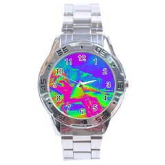 Seaside Holiday Stainless Steel Watch