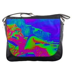 Seaside Holiday Messenger Bag
