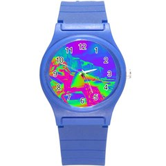 Seaside Holiday Plastic Sport Watch (small) by icarusismartdesigns