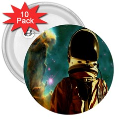 Lost In The Starmaker 3  Button (10 Pack) by icarusismartdesigns