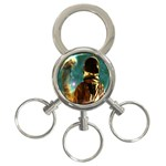 Lost In The Starmaker 3-Ring Key Chain Front