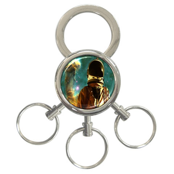 Lost In The Starmaker 3-Ring Key Chain