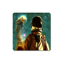 Lost In The Starmaker Magnet (square) by icarusismartdesigns