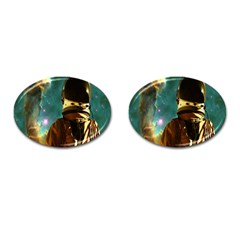 Lost In The Starmaker Cufflinks (oval) by icarusismartdesigns