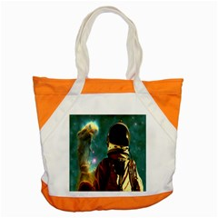 Lost In The Starmaker Accent Tote Bag by icarusismartdesigns