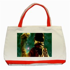 Lost In The Starmaker Classic Tote Bag (red) by icarusismartdesigns