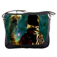 Lost In The Starmaker Messenger Bag by icarusismartdesigns
