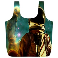 Lost In The Starmaker Reusable Bag (xl) by icarusismartdesigns