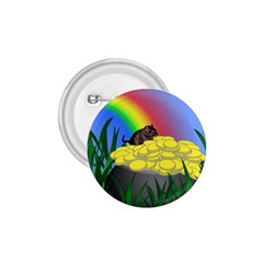Pot Of Gold With Gerbil 1 75  Button