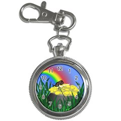 Pot Of Gold With Gerbil Key Chain Watch