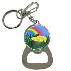 Pot Of Gold With Gerbil Bottle Opener Key Chain by designedwithtlc