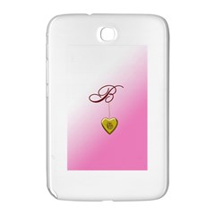 B Golden Rose Heart Locket Samsung Galaxy Note 8 0 N5100 Hardshell Case  by cherestreasures