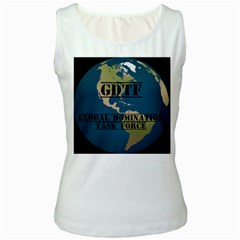 Gdtf Women s Tank Top (white)