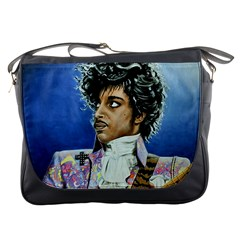 His Royal Purpleness Messenger Bag by retz