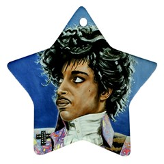 His Royal Purpleness Star Ornament (two Sides) by retz