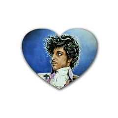 His Royal Purpleness Drink Coasters (heart) by retz