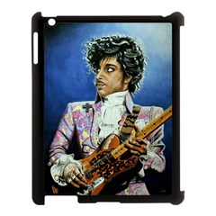 His Royal Purpleness Apple Ipad 3/4 Case (black) by retz