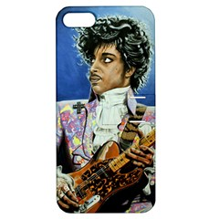 His Royal Purpleness Apple Iphone 5 Hardshell Case With Stand by retz