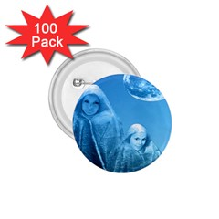 Full Moon Rising 1 75  Button (100 Pack) by icarusismartdesigns