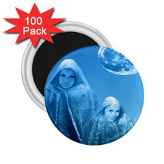 Full Moon Rising 2 25  Button Magnet (100 Pack) by icarusismartdesigns