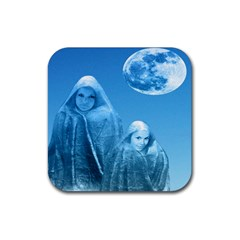 Full Moon Rising Drink Coaster (square)