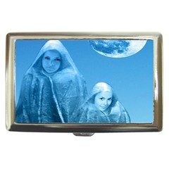 Full Moon Rising Cigarette Money Case by icarusismartdesigns
