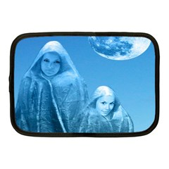 Full Moon Rising Netbook Sleeve (medium) by icarusismartdesigns