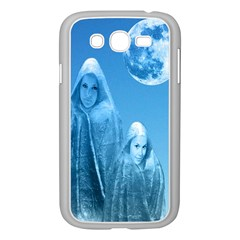 Full Moon Rising Samsung Galaxy Grand Duos I9082 Case (white) by icarusismartdesigns