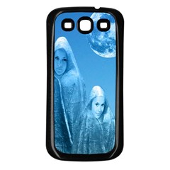 Full Moon Rising Samsung Galaxy S3 Back Case (black) by icarusismartdesigns
