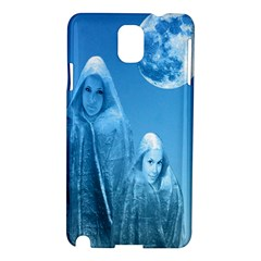 Full Moon Rising Samsung Galaxy Note 3 N9005 Hardshell Case by icarusismartdesigns
