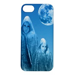 Full Moon Rising Apple Iphone 5s Hardshell Case by icarusismartdesigns