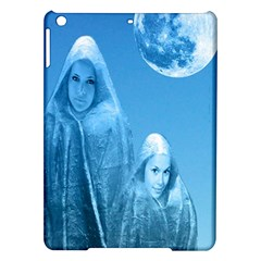 Full Moon Rising Apple Ipad Air Hardshell Case by icarusismartdesigns