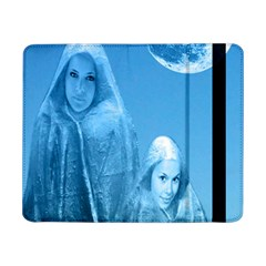Full Moon Rising Samsung Galaxy Tab Pro 8 4  Flip Case by icarusismartdesigns
