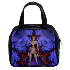 Chaos Classic Handbag (two Sides) by icarusismartdesigns