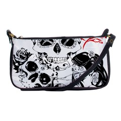 Skull Love Affair Evening Bag by vividaudacity