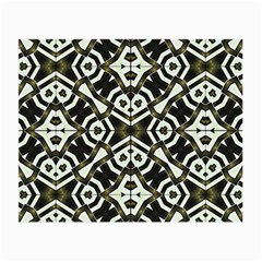 Abstract Geometric Modern Pattern  Glasses Cloth (small) by dflcprints