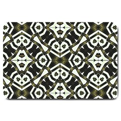 Abstract Geometric Modern Pattern  Large Door Mat by dflcprints